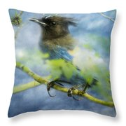 Knowing It Has Wings Throw Pillow
