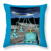 Knowledge From The Gods Throw Pillow