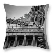 Knowledge, Harold Washington Library, Chicago, Il Throw Pillow