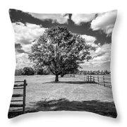 Knox Estate Throw Pillow