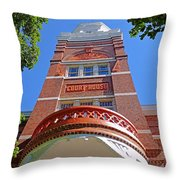 Knoxville Old Courthouse 2 Throw Pillow