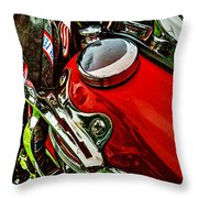 Knucklehead 037 Throw Pillow