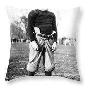Knute Rockne (1888-1931) Throw Pillow