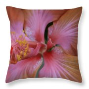 Ko Aloha Aloalo Echoes Of The Soul Exotic Tropical Hibiscus Kula Maui Hawaii Throw Pillow