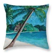 Ko Phuket Throw Pillow