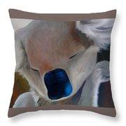 Koala Detail Throw Pillow