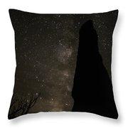 Kodachrome Basin Night Sky 2930 Throw Pillow