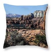 Kodachrome Basin Panorama Throw Pillow