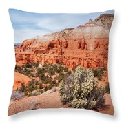 Kodachrome Basin State Park Panorama Throw Pillow