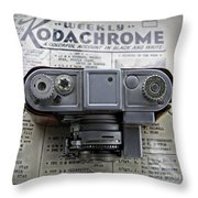 Kodachrome Weekly Throw Pillow