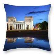 Koenigsplatz - After The Rain Throw Pillow