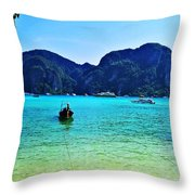 Koh Phi Phi Throw Pillow