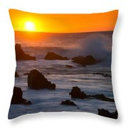 Kohala Sunset Throw Pillow