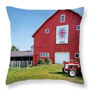 Kohler Barn Throw Pillow