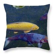Koi 7214 3 Throw Pillow