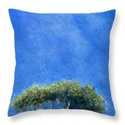 Kokee Trees Throw Pillow