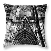 Koln - Dom Throw Pillow