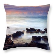 Koloa Sunrise Throw Pillow