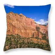 Kolob Canyon Vista Throw Pillow