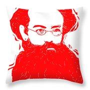 Komrade K Throw Pillow