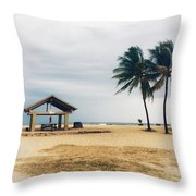 Kona Beach Throw Pillow