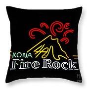 Kona Fire Rock 2 Throw Pillow