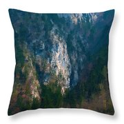 Konigsee  Throw Pillow