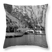 Konigssee Lake And Saint Bartoloma 2 Throw Pillow