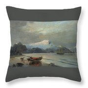 Konstantinos Volanakis Throw Pillow