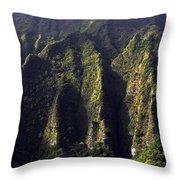Koolau Range, Oahu Throw Pillow