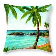 Koolina Lagoon Oahu, Hawaii #343 Throw Pillow