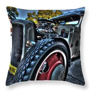 Koolsville Rat Rod. Throw Pillow by Ian  Ramsay