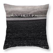 Kootenai Valley Farm Throw Pillow