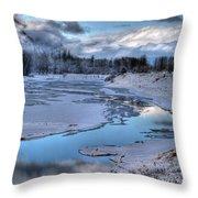 Kootenai Wildlife Refuge 1 Throw Pillow
