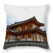korean style house II Throw Pillow