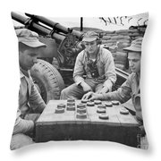 Korean War (1950-1953) Throw Pillow
