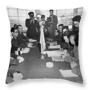 Korean War, 1953 Throw Pillow