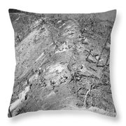 Korean War: Bloody Ridge Throw Pillow