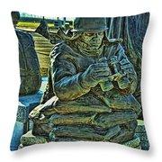 Korean War Memorial 2 Throw Pillow