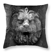 Koreshans Lion Throw Pillow