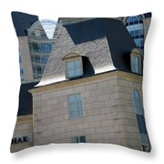 Korshak Dallas Throw Pillow