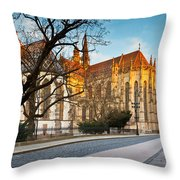 kosice 'VI Throw Pillow