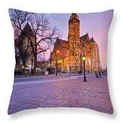 kosice 'VIII Throw Pillow