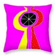 Kosmikon Throw Pillow by Eikoni Images