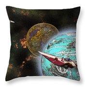 10114 Starfighters Throw Pillow