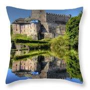 Kost Castle Throw Pillow