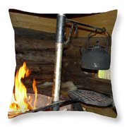 Kota Kitchen In Lapland Throw Pillow