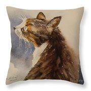 Kotora - My Parents Cat Throw Pillow