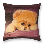 Flying Lamb Productions     Koty The Puppy Throw Pillow