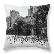 Kotzia Square, Athens Throw Pillow